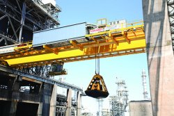 Konecranes Coker cranes in operation. © Konecranes (photo: Industrial News Service)