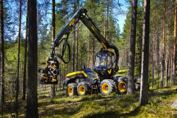 <p>Ponsse Plc, forest harvester, Finland. </p> (photo: Studio Sami Helenius Oy)