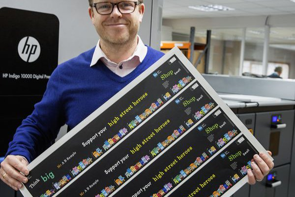 """Invercote is far from being the cheapest option if you only look at the price per kilo but its properties enabled us to save £14,000 by not having to laminate,"" says Gary Peeling, CEO of Precision Printing. © Iggesund"