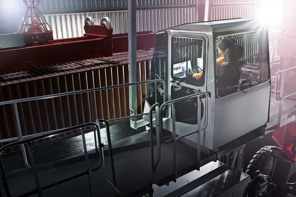 BOXHUNTER is a no-compromise design in terms of reliable performance, ease of operation, and eco-efficiency.© Konecranes