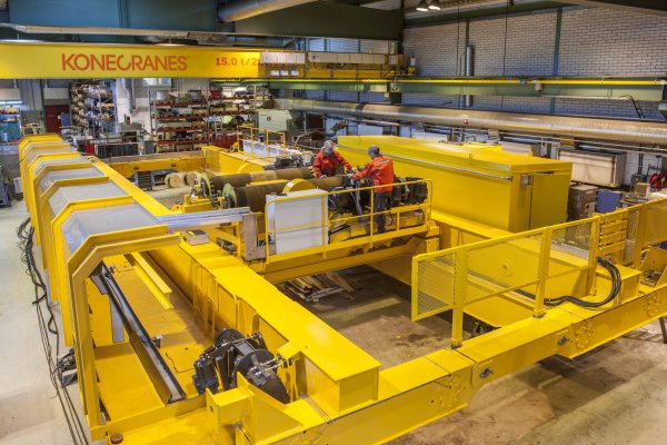 <p>Konecranes is a leading provider of overhead crane modernizations with over 100 years of experience. © Konecranes</p>