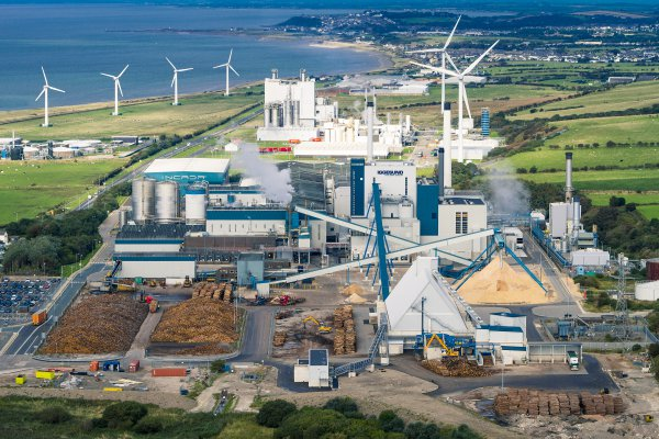 <p>Aerial photos of Workington Mill</p>