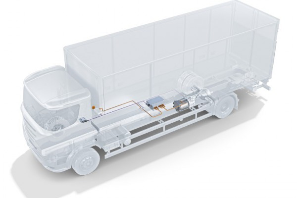 <p>eRegioTruck powertrain solutions from Bosch</p>