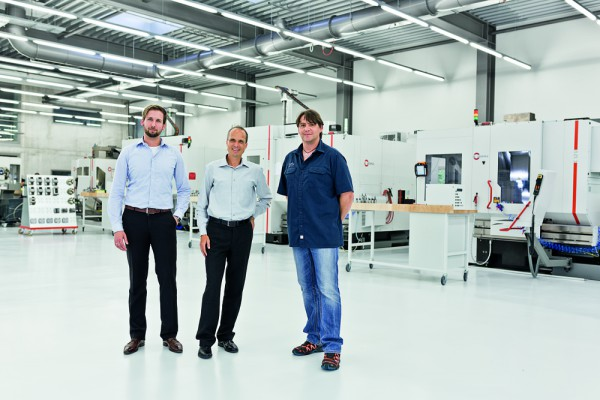 <p><strong>Figure 3</strong> shows from left to right: Sascha Riesinger, sales manager, Dipl.-Betriebswirt (FH) Jürgen Stickel, managing director, and Bernd Zepf, production manager, all from Fetzer Medical GmbH &amp; Co. KG in Tuttlingen (0963).</p>