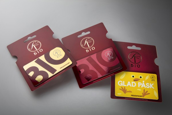 "<p>""When we could have just as impactful cards in paperboard as in plastic we didn't hesitate to switch – for the environment's sake,"" says Anna Marcusson, product manager for gift cards at SF Bio.</p>"