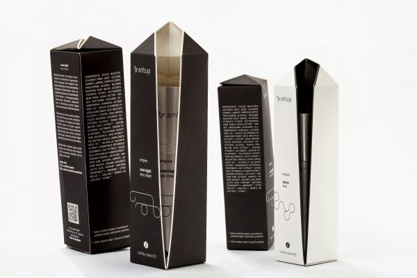 <p>The Carton of the Year award went to the packaging for ambuja, a skin care collection from Legart Forschungsatelier. The carton is made by Offsetdruckerei Schwarzach of Invercote G from Iggesund Paperboard. © Iggesund</p>
