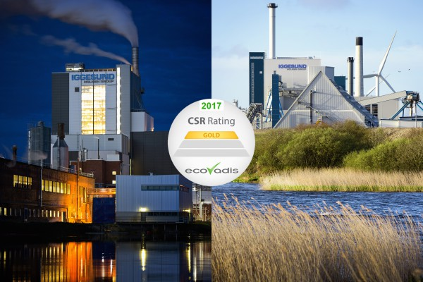 <p>Iggesund Paperboard's both mills – in Iggesund, Sweden, and Workington, England - have been awarded the highest rating for sustainability in an evaluation done by the EcoVadis firm of analysts. ©Iggesund</p>