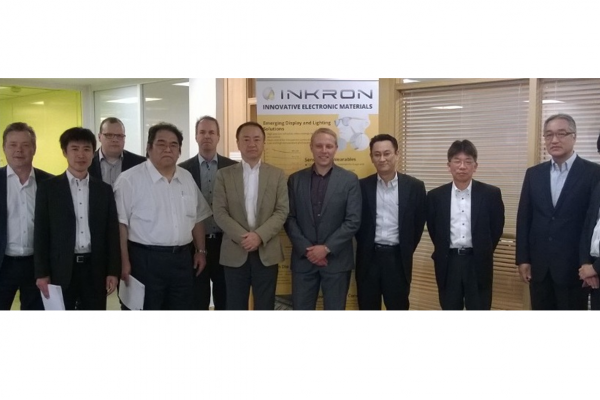 <p>INKRON and NAGASE Group to intensify their bilateral relationship</p>