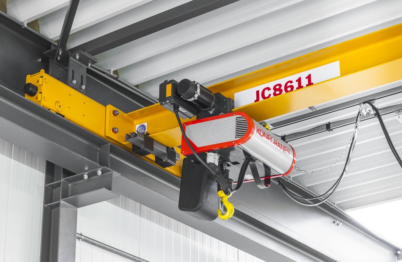 Overhead Crane 500kg : Konecranes d?voile son nouveau pont roulant clx ?quip? d