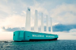 <p><em>Orcelle Wind - the world's first full-scale RoRo ship</em></p> (photo: )